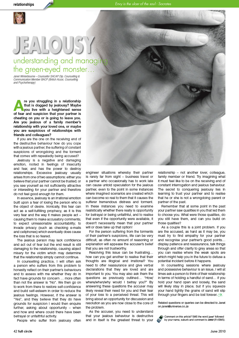 jealousy and guilt distressing the individual Chapter 5 – assessing psychosis in acute and chronic mentally ill older adults  effects on individual quality of  somatic, and jealousy/guilt).